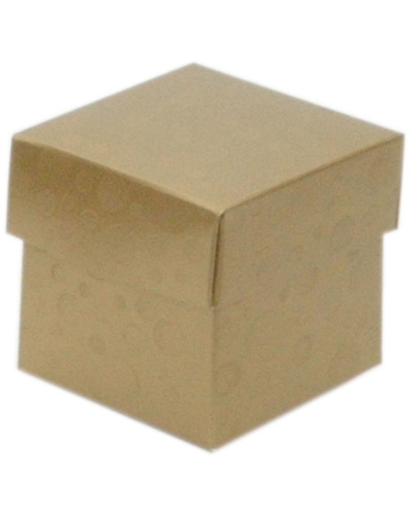 Caixa Sfere Oro Fondo+Cop. 50x50x50 - Dourado - 50x50x50mm - CX3611