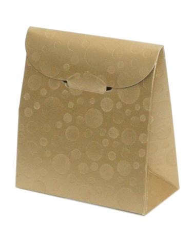 Caixa Sfere Oro Sacchetto 70x35x80 - Dourado - 70x35x80mm - CX3616