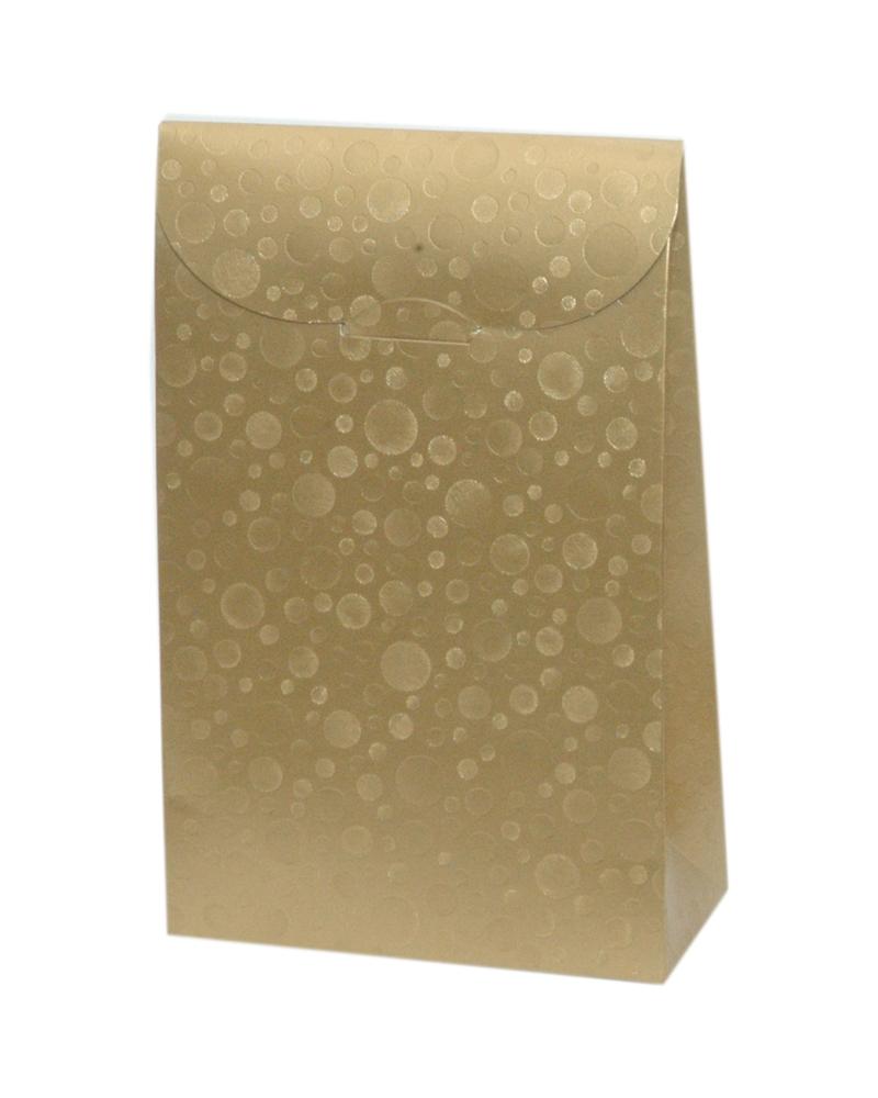Caixa Sfere Oro Sacchetto 115x55x180 - Dourado - 115x55x180mm - CX3618