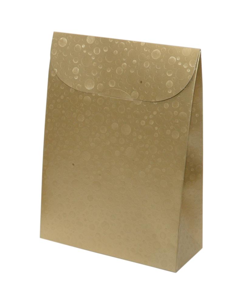 Caixa Sfere Oro Sacchetto 170x70x235 - Dourado - 115x55x180mm - CX3619