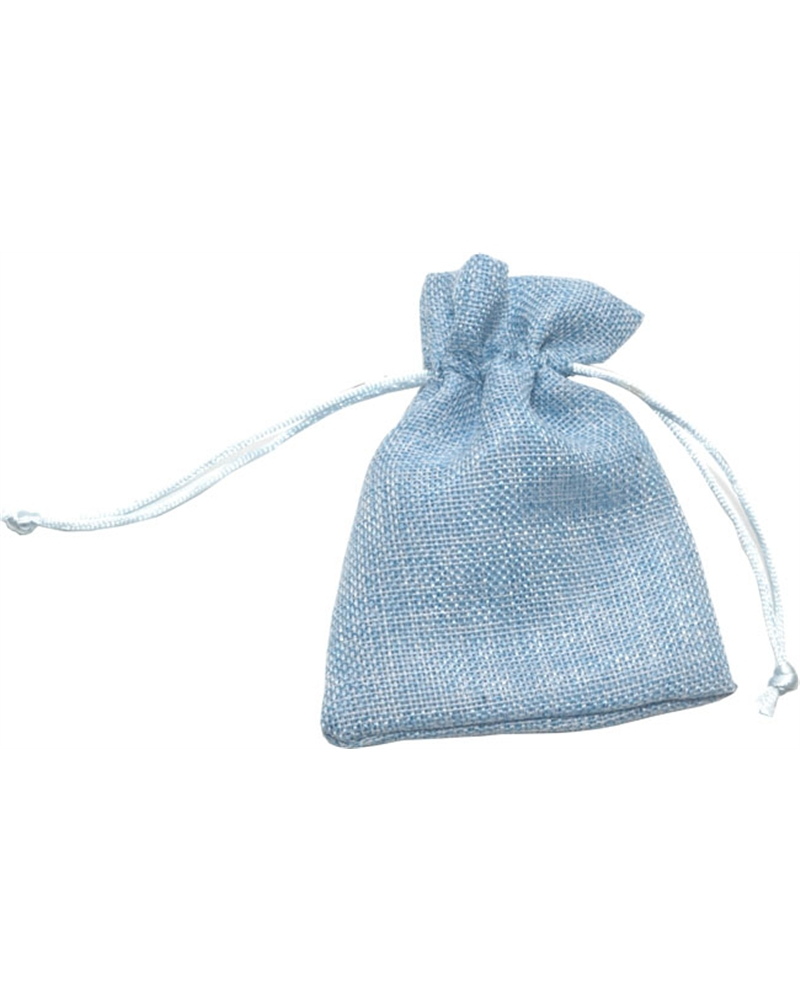 Saco Polyester Tons Azul - Azul - 10x14cm - EO0623