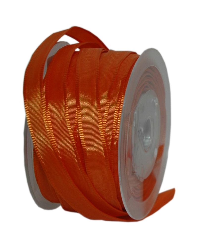 Excl Rolo Fita Super Taffeta Laranja 10mmx25mts - Laranja - 10mmx25mts - FT5056
