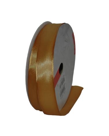Excl Rolo Fita Super Taffeta Dourado Esc. 23mmx25mts - Dourado - 23mmx25mts - FT5074