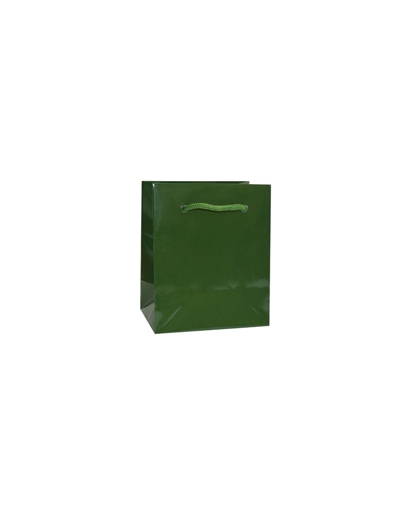 Saco Asa Cordão Gofrado Verde Escuro - Verde Escuro - 10+6.5x12 - SC3267