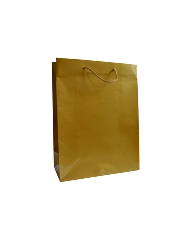 Saco Asa Cordão Gofrado Dourado - Dourado - 22+10x29 - SC3266