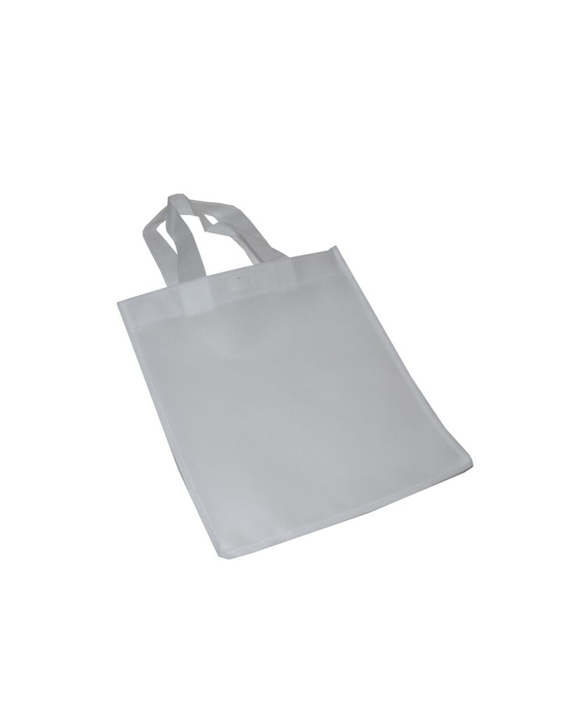 Saco em TNT c/Alças Branco - Branco - 24x30 - SC3256