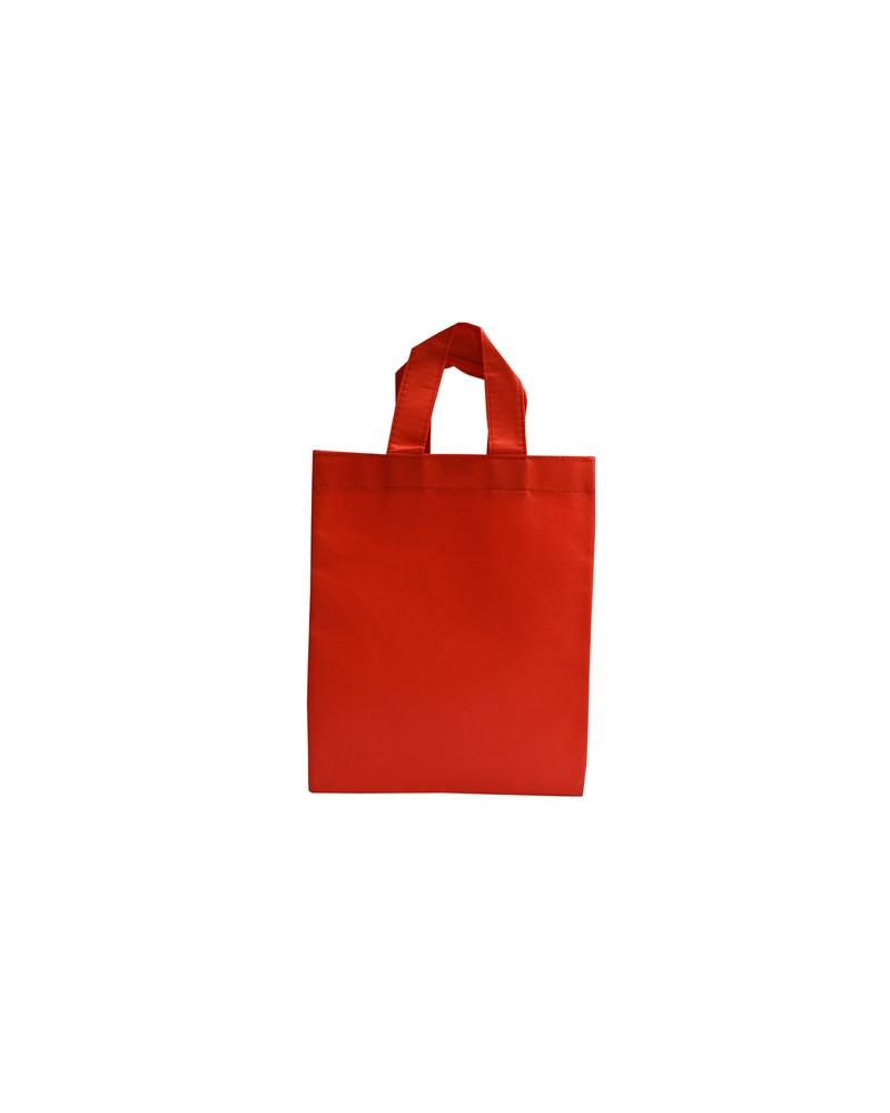 Saco em TNT c/Alças Vermelho - Vermelho - 24x30 - SC3270