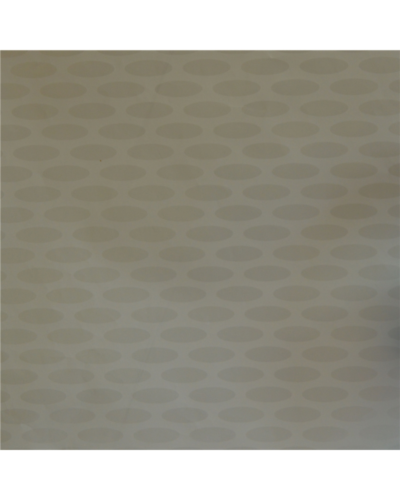 Rolo Papel Reflex Fundo Branco c/Ovais - Branco - 0.70x100mts - BB2167