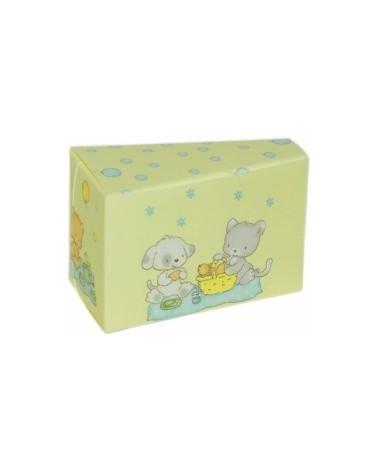 Caixa Cubo Palloncini Azul para Criança - Azul - 100x100x90mm - CX2681