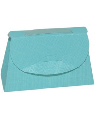 Caixa Seta Celeste Cartella 85x30x55 - Azul - 85x30x55mm - CX3702
