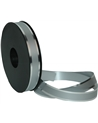 Rolo Fita Metalizada c/ Rebordo Prateado 20mm - Prateado - 20mmx100mts - FT5163