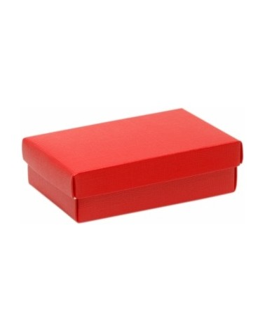 Caixa Seta Rosso c/ Tampa e Fundo Vermelho - Vermelho - 130x90x40mm - CX2687