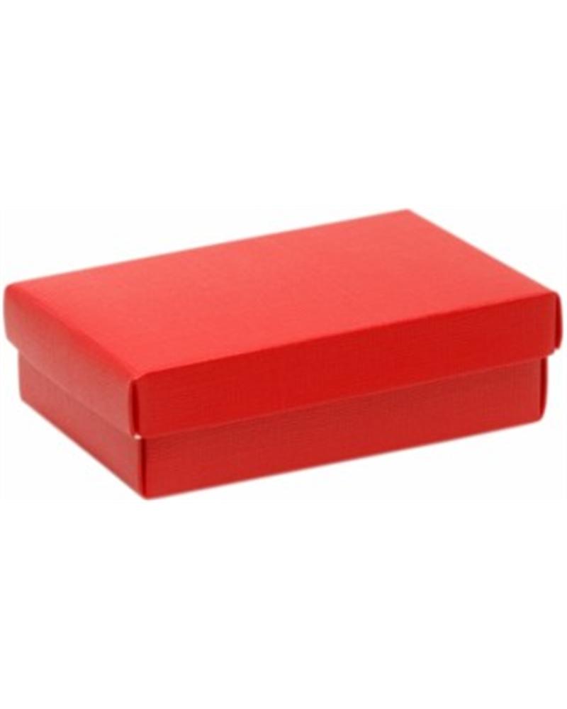 Caixa Seta Rosso c/ Tampa e Fundo Vermelho - Vermelho - 165x110x40mm - CX2688