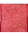 Rolo Fita Organza Aramada Vermelha 40mmx20mts - Vermelho - 40mmx20mts - FT5188