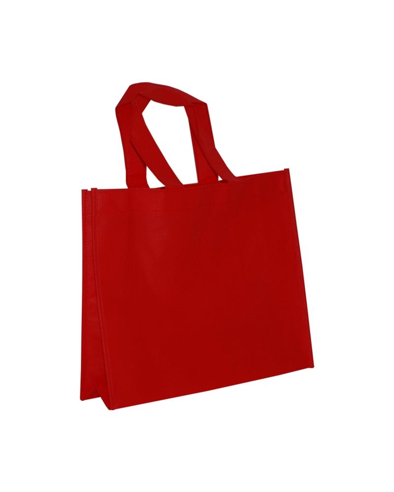 Saco em TNT c/Alças Vermelho - Vermelho - 33+10x28 - SC3325