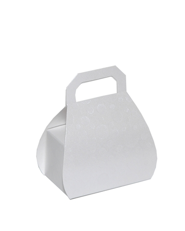 Caixa Sfere Bianco Borsa H.80 - Branco - H.80mm - CX3740