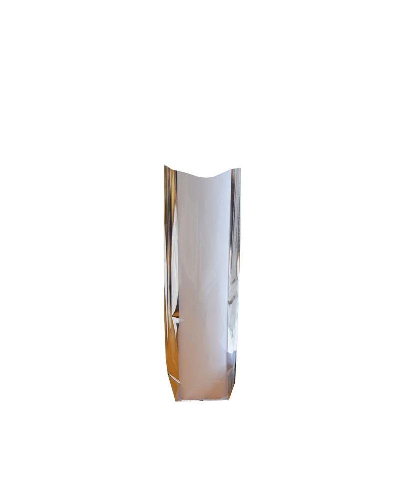 Sc Celofane c/ Cartão Fundo  Foles Prata - Transparente - 100x220mm - ASC0112