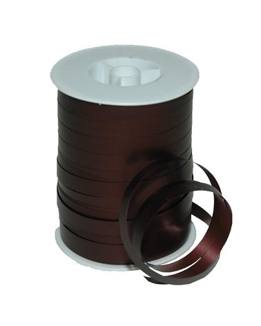 Rolo Fita Metalizada Mate Castanho 10mm - Castanho - 10mmx250mts - FT5203