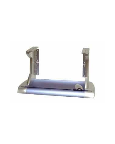 Desenrolador Inov 75cm c/Kit Acoplagem e Pés - Cinza/Lilás - 75cm - DS0171