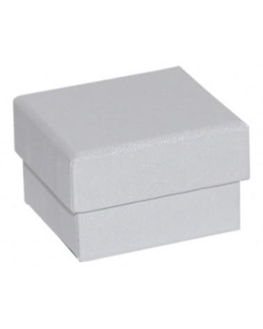 Caixa Linha Perola Branca p/ Anel - Branco - 5.2x4.8x3.2cm - EO0679