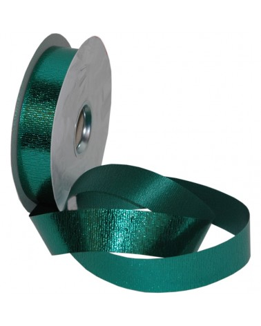 Rolo Fita Metalizada Gofrada Verde Esc. 31mm - Verde - 31mmx75mts - FT5250