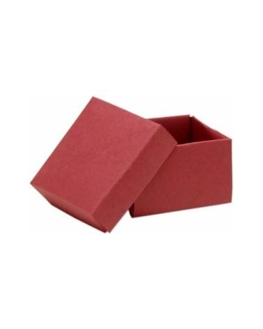 Caixa em Cartolina c/Tampa e Fundo CLA Bordeaux 5.5x5.5cm - Bordeaux - 55x55x35mm - CX0648