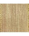 Fita Tecido Aramada Bege c/Nuances Douradas - Bege - 38mmx10y - FT5219