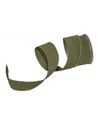 Fita Tecido Aramada Verde c/Nuances Douradas - Verde - 38mmx10y - FT5222
