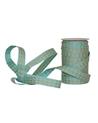 Fita Tecido Aramada Losangos Azul Claro - Azul Claro - 15mmx20mts - FT5260