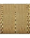 Fita Tecido c/Tirante Dourado e Tracejado Ouro - Dourado - 25mmx15mts - FT5275