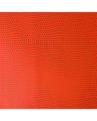 Papel Reflex Vermelho c/Quadrados Dourados - Vermelho - 70x100cm - PP2824