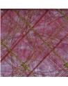 Saco Organza Xadrez Bordeaux - Bordeaux - 6X9cm - EO0241