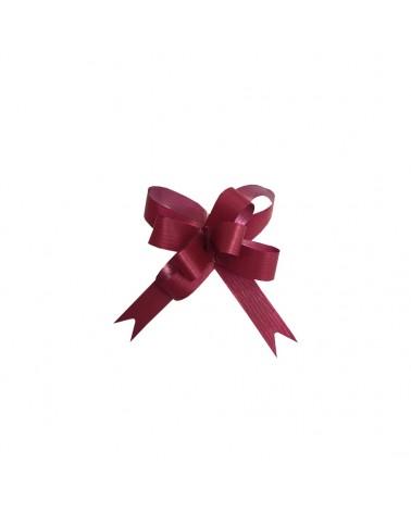 Laço de Puxar Mate Bordeaux 19mm (c/100) - Bordeaux - 19mm - LÇ0332