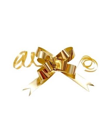 Laço de Puxar Metalizado Dourado 19mm - Dourado - 19mm - LÇ1192