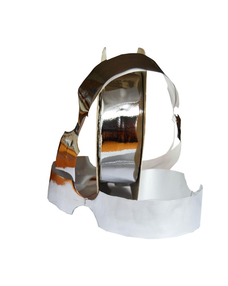 Rolo Fita de Puxar Metalizada Prateado 31mm 40mts - Prateado - 31mm - FT0275
