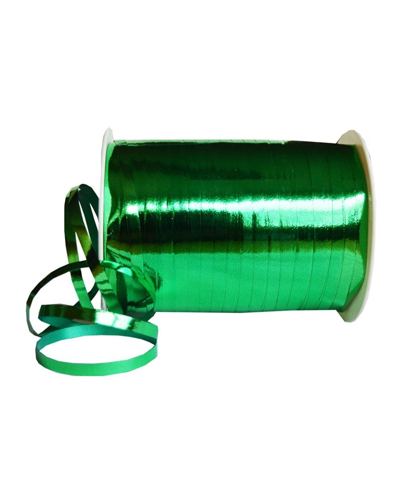 Fita Metalizada Verde 5mm 250mts - Verde - 5mm - FT0120