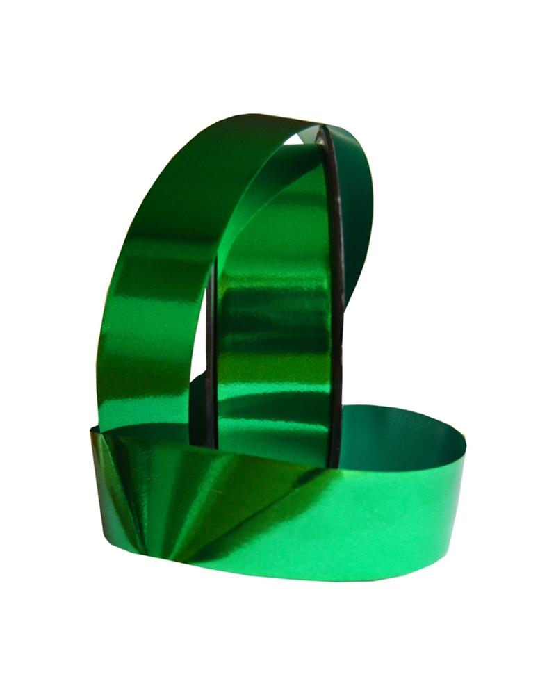 Fita Metalizada Verde 31mm 50mts - Verde - 31mm - FT0216