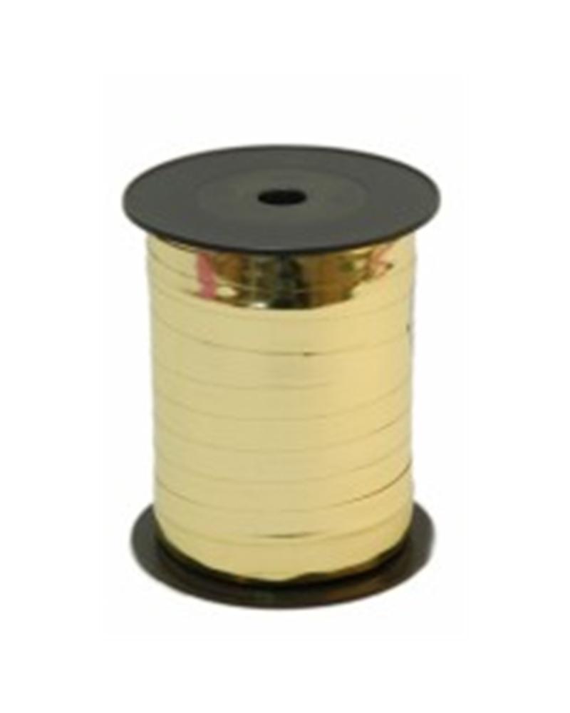 Rolo Fita Metalizada Dourado 10mm - Dourado - 10mmx250mts - FT0112