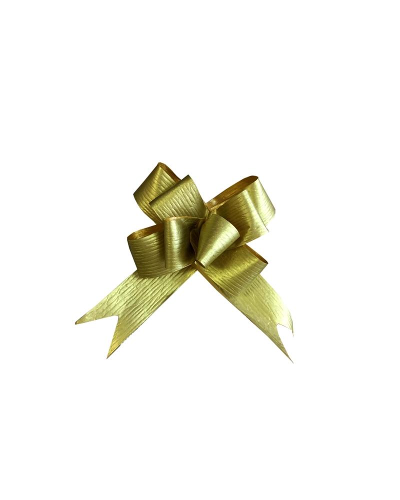 Laço de Puxar Mate Dourado 31mm (c/100) - Dourado - 31mm - LÇ1816