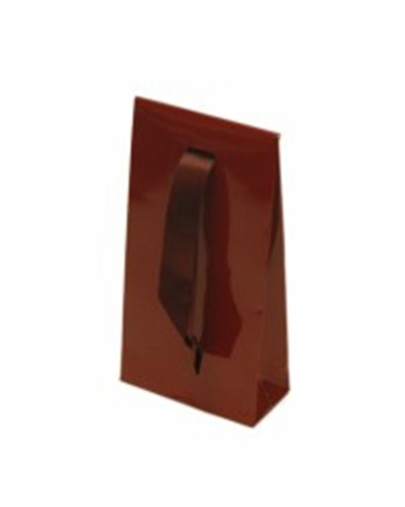 Saco Com Fita A/B Plastificado Bordeaux 7.5+3.5X14 - Bordeaux - 7.5+3.5X14 - SC0036