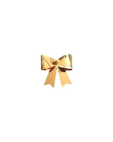 Laço Ouro com Elastico (C/100) - Dourado - 5cm - LÇ0164
