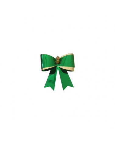 Laço Verde Com Elastico (C/100) - Verde - 5cm - LÇ0167