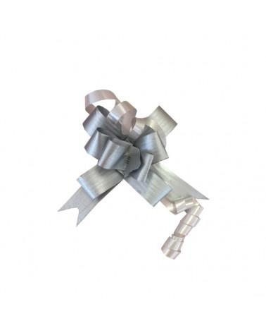 Laço de Puxar Mate Prateado 13mm (c/100) - Prateado - 13mm - LÇ0198