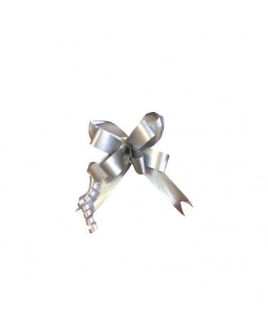 Laço de Puxar Mate Prateado 19mm (c/100) - Prateado - 19mm - LÇ0199