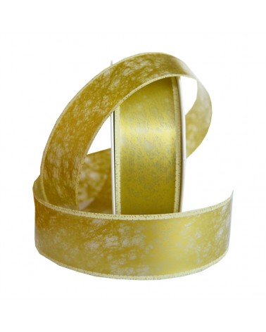 ROLLS ORGANZA FUJI 34MM 25MTS DOURADO (5) - Dourado - 34mm - FT1794