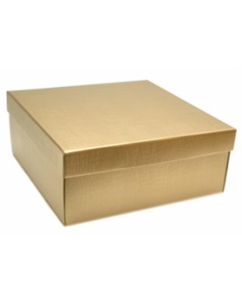 Caixa Seta Oro F/C-ec-dp-on - Dourado - 30x300x110mm - CX1374