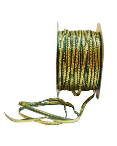 Fita de Puxar Dourado/ Verde 3mmx20y - Dourado/Verde - 3mmx20mts - FT2086
