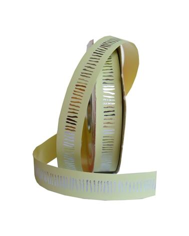 "FT2284 | Fitas | Rolo Fita Metalizada ""Vibration"" Amarelo 19mm"