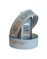 "Rolo de Fita Metalizada ""Vibration"" Azul 31mm - Azul - 31mmx50mts - FT2285"