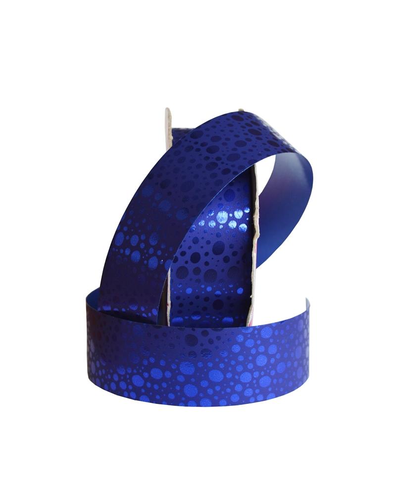 "Rolo de Fita Metalizada ""Frizzo"" Azul 31mm - Azul - 31mmx50mts - FT2323"